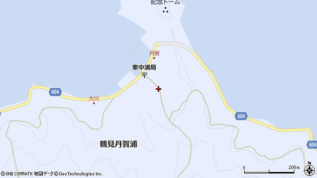 大分県佐伯市鶴見大字丹賀浦356周辺の地図