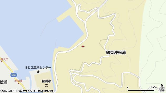 大分県佐伯市鶴見大字沖松浦842周辺の地図