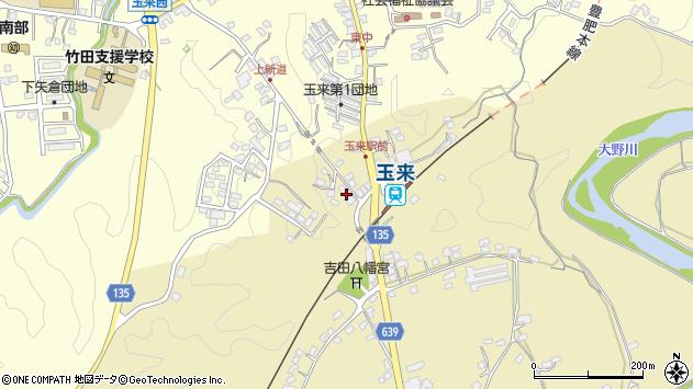 大分県竹田市吉田356周辺の地図