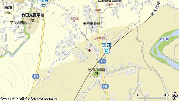 大分県竹田市吉田355周辺の地図