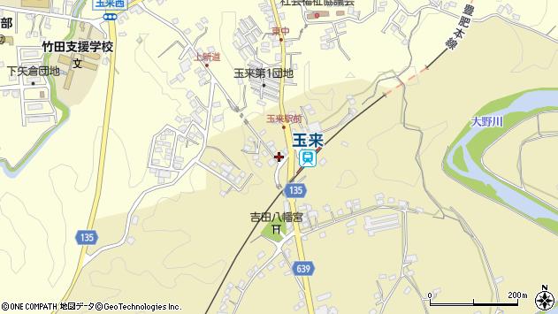 大分県竹田市吉田357周辺の地図