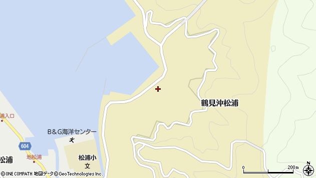 大分県佐伯市鶴見大字沖松浦843周辺の地図