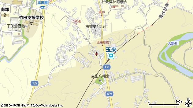 大分県竹田市吉田354周辺の地図