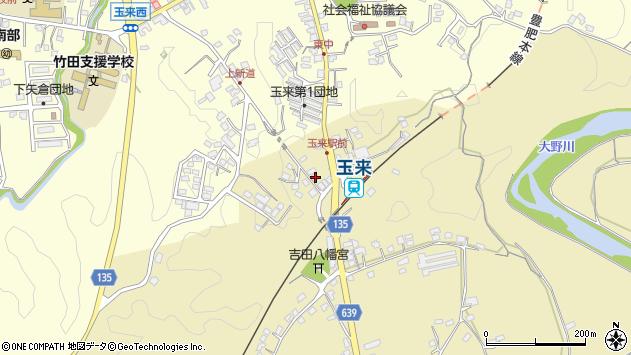 大分県竹田市吉田353周辺の地図