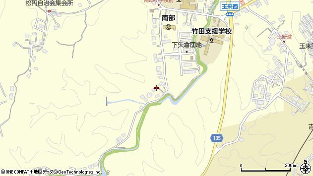 大分県竹田市君ケ園1446周辺の地図