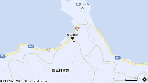 大分県佐伯市鶴見大字丹賀浦257周辺の地図