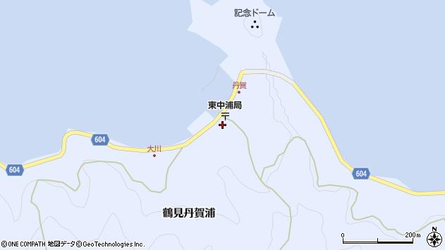 大分県佐伯市鶴見大字丹賀浦253周辺の地図