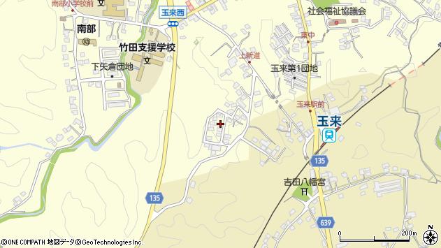 大分県竹田市玉来1101周辺の地図