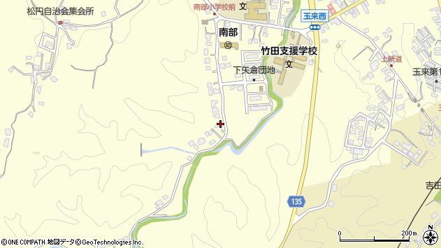 大分県竹田市君ケ園1139周辺の地図