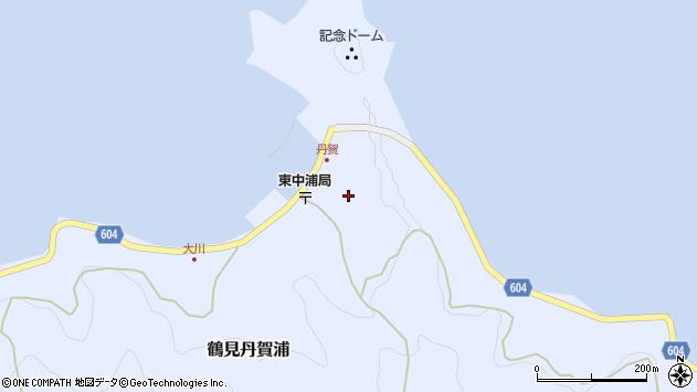 大分県佐伯市鶴見大字丹賀浦345周辺の地図