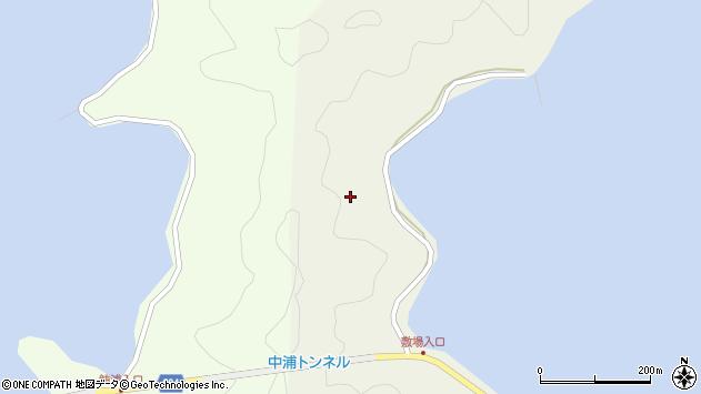 大分県佐伯市鶴見大字羽出浦敷場周辺の地図