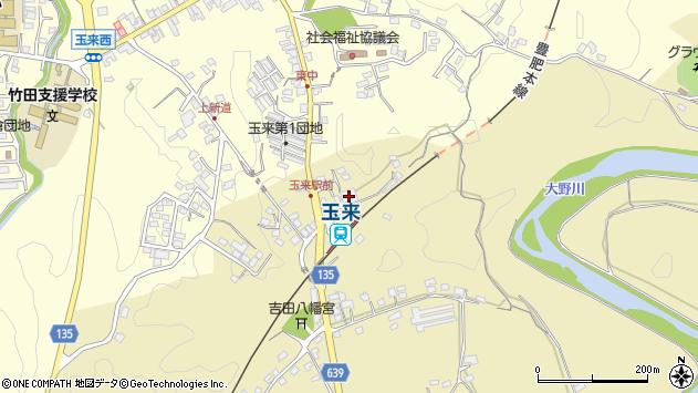 大分県竹田市吉田331周辺の地図