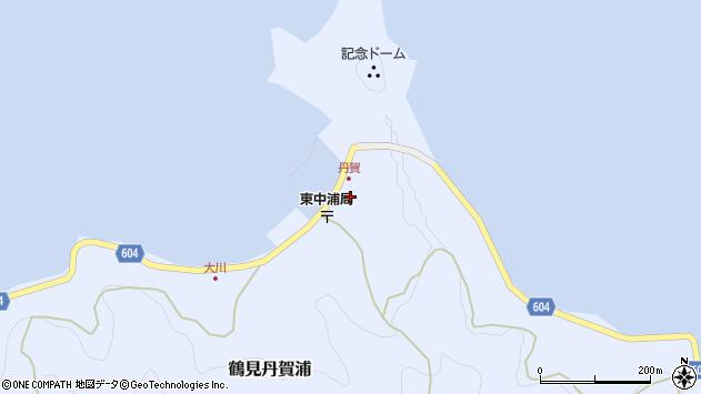 大分県佐伯市鶴見大字丹賀浦294周辺の地図