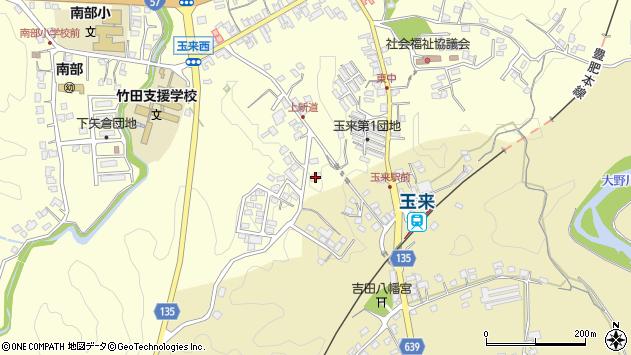 大分県竹田市玉来1180周辺の地図
