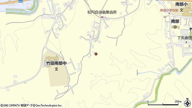 大分県竹田市君ケ園769周辺の地図