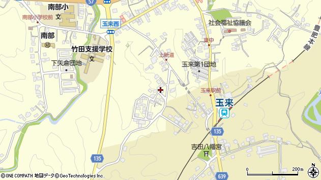 大分県竹田市玉来1110周辺の地図
