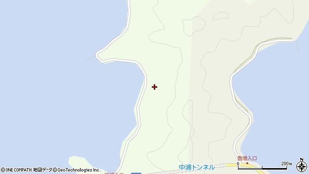 大分県佐伯市鶴見大字有明浦1411周辺の地図