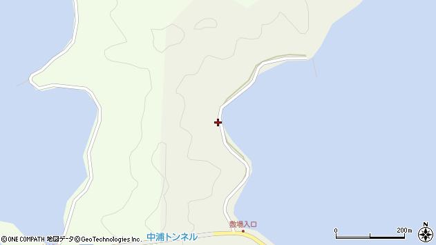 大分県佐伯市鶴見大字羽出浦262周辺の地図