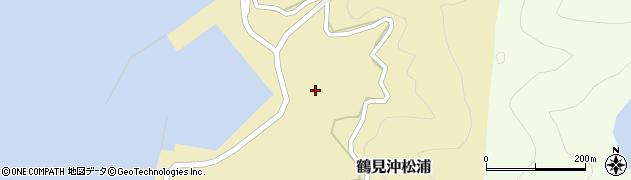 大分県佐伯市鶴見大字沖松浦1022周辺の地図