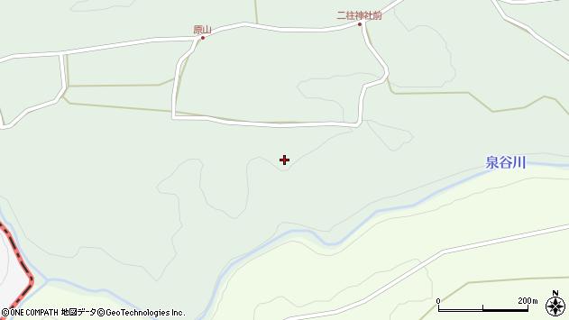 大分県竹田市小塚287周辺の地図