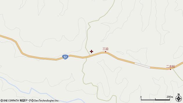 大分県竹田市向山田1057周辺の地図