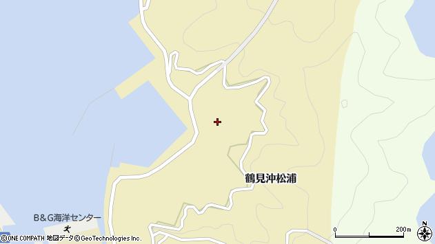 大分県佐伯市鶴見大字沖松浦1021周辺の地図