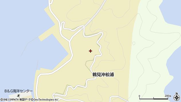 大分県佐伯市鶴見大字沖松浦1037周辺の地図