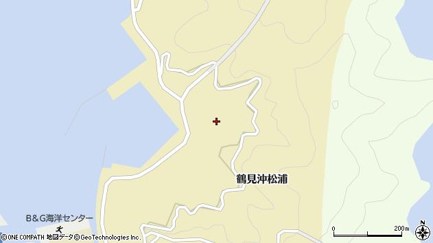 大分県佐伯市鶴見大字沖松浦1030周辺の地図