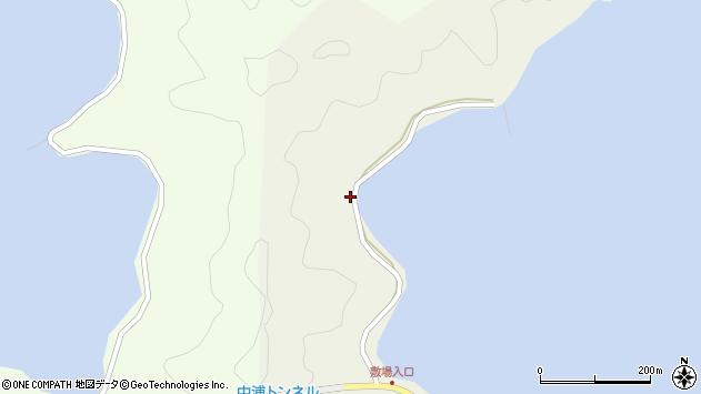 大分県佐伯市鶴見大字羽出浦260周辺の地図