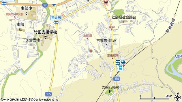 大分県竹田市玉来1178周辺の地図