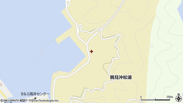 大分県佐伯市鶴見大字沖松浦1009周辺の地図