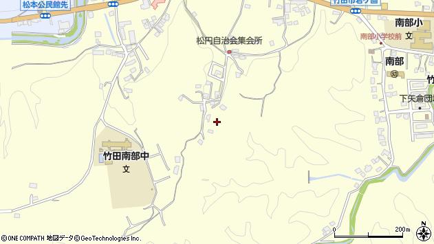 大分県竹田市君ケ園782周辺の地図