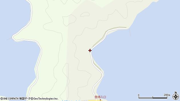 大分県佐伯市鶴見大字羽出浦259周辺の地図