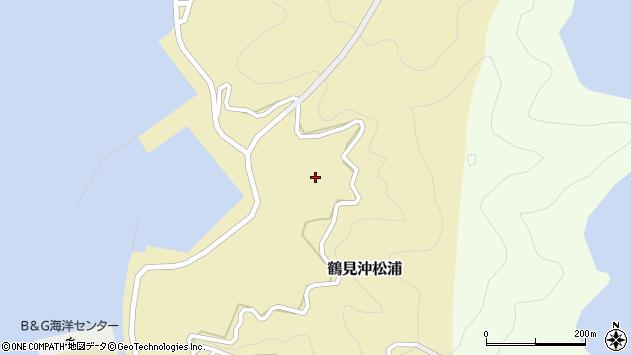 大分県佐伯市鶴見大字沖松浦1033周辺の地図