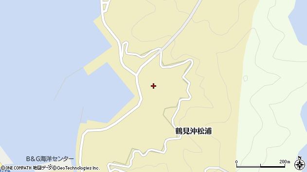 大分県佐伯市鶴見大字沖松浦1018周辺の地図
