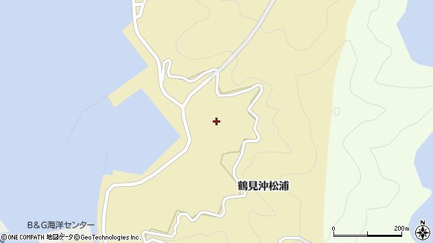 大分県佐伯市鶴見大字沖松浦1015周辺の地図