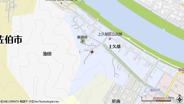 大分県佐伯市池田724周辺の地図