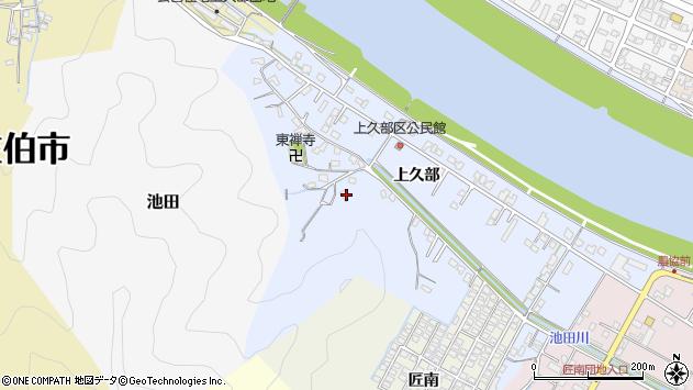 大分県佐伯市池田722周辺の地図