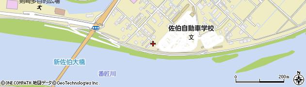 大分県佐伯市6718周辺の地図