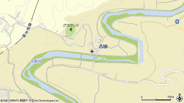大分県竹田市吉田2979周辺の地図