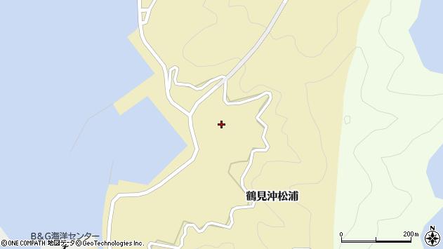 大分県佐伯市鶴見大字沖松浦1014周辺の地図