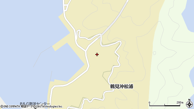 大分県佐伯市鶴見大字沖松浦1013周辺の地図