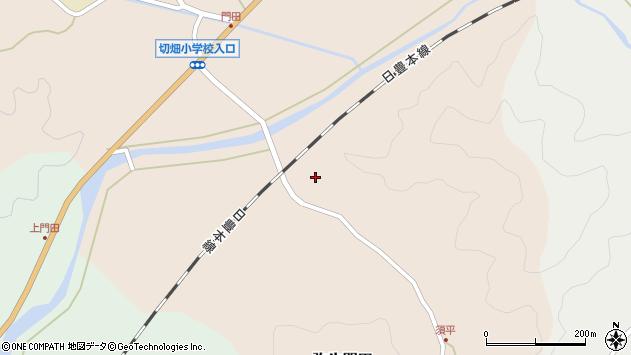 大分県佐伯市弥生大字門田681周辺の地図