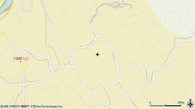 大分県竹田市入田2399周辺の地図