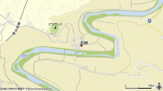 大分県竹田市吉田2973周辺の地図