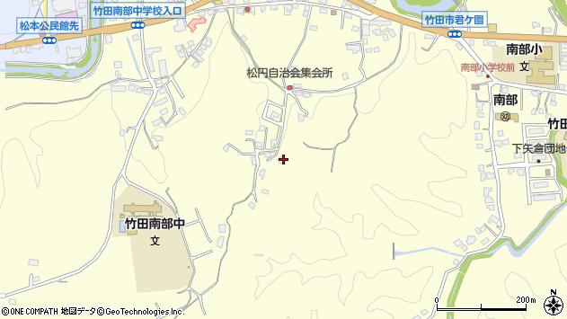 大分県竹田市君ケ園830周辺の地図