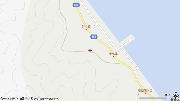 大分県佐伯市鶴見大字地松浦234周辺の地図