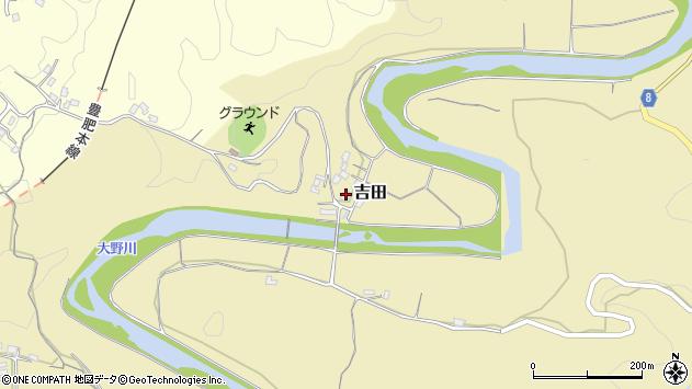 大分県竹田市吉田2982周辺の地図