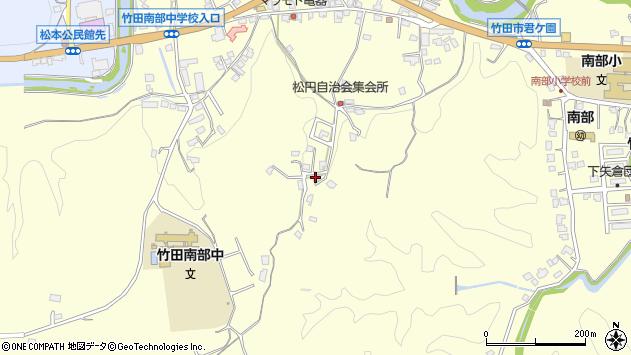 大分県竹田市君ケ園797周辺の地図