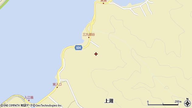 大分県佐伯市9686周辺の地図